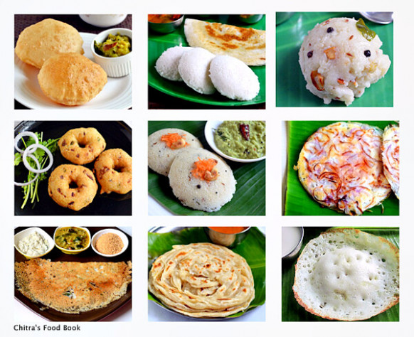South Indian Breakfast Recipes - Top 15 Tiffin Items List ..