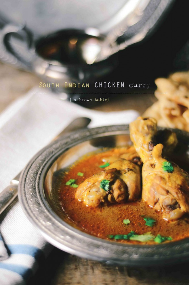south indian chicken curry - south indian food recipes non vegetarian