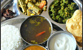 South Indian Lunch Menu 11 - Parangikai Puli Kuzhambu ...