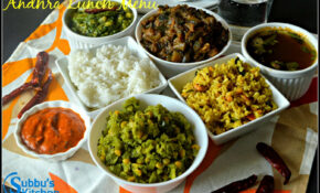 South Indian Lunch Menu 13 – Andhra Lunch Menu – Subbus Kitchen – Dinner Recipes Veg South Indian