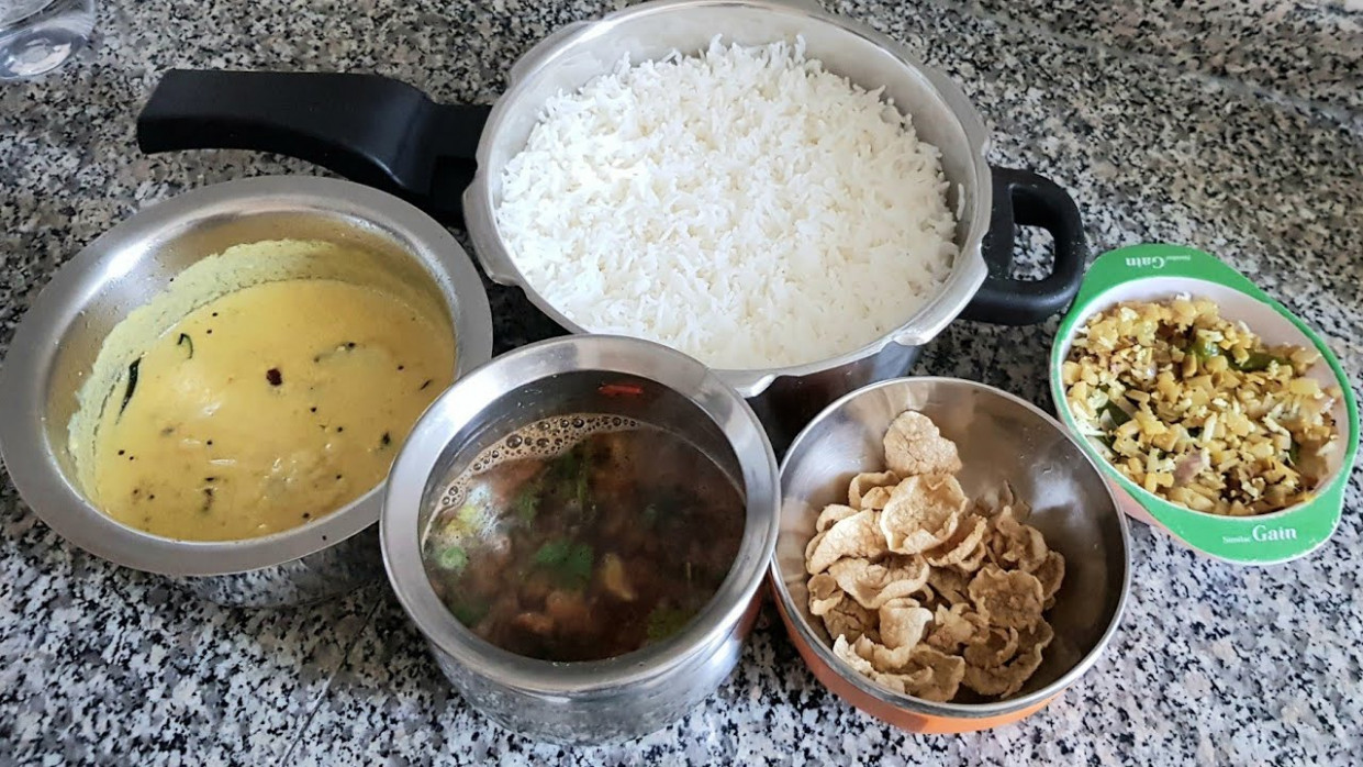 South Indian lunch menu in Tamil | Veg recipes for lunch ..