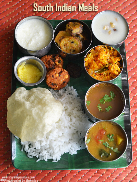 South indian lunch recipes, South indian meals - Sharmis ..