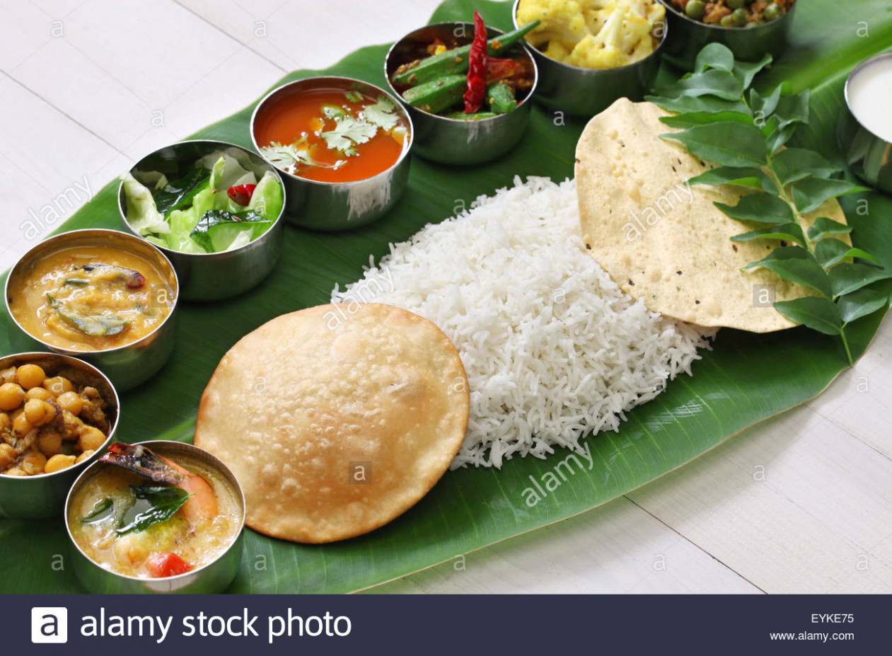 South Indian Meals Stockfotos & South Indian Meals Bilder ..