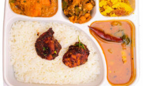 South Indian Non Veg Combo Meal (Light) – Dinner Recipes South Indian Veg