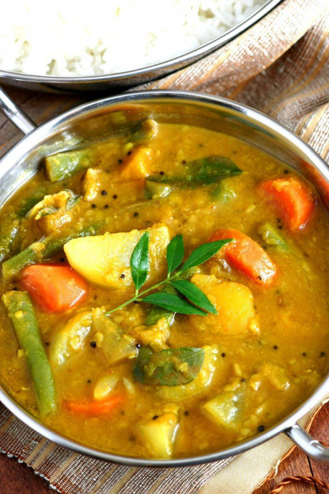South Indian Sambar | Recipe | Lands & Flavors Blog ..