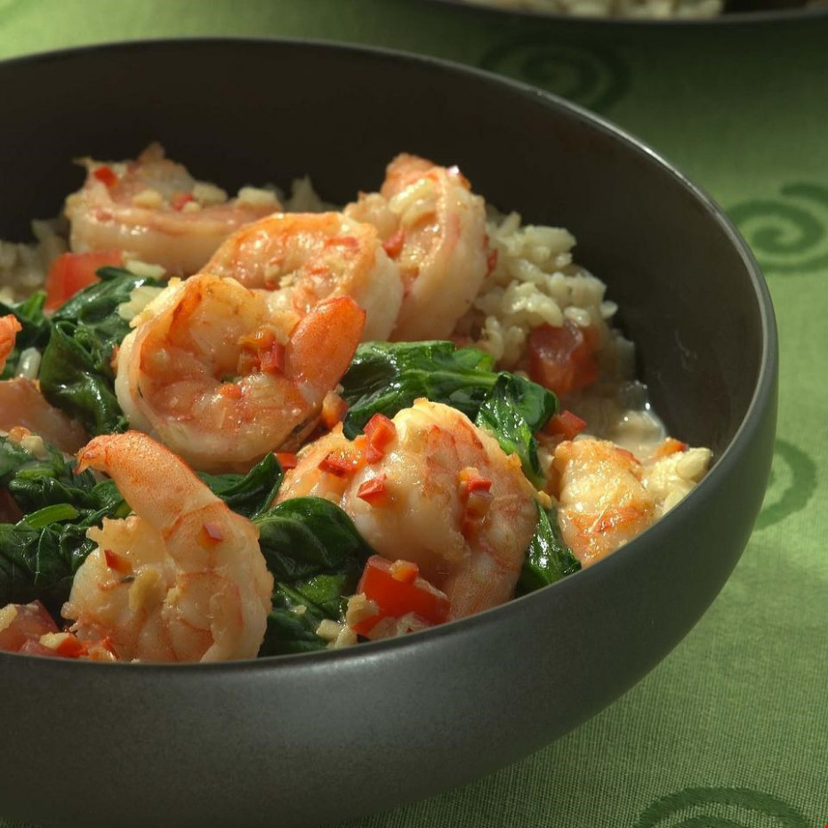 South Pacific Shrimp Recipe - EatingWell - healthy recipes with shrimp