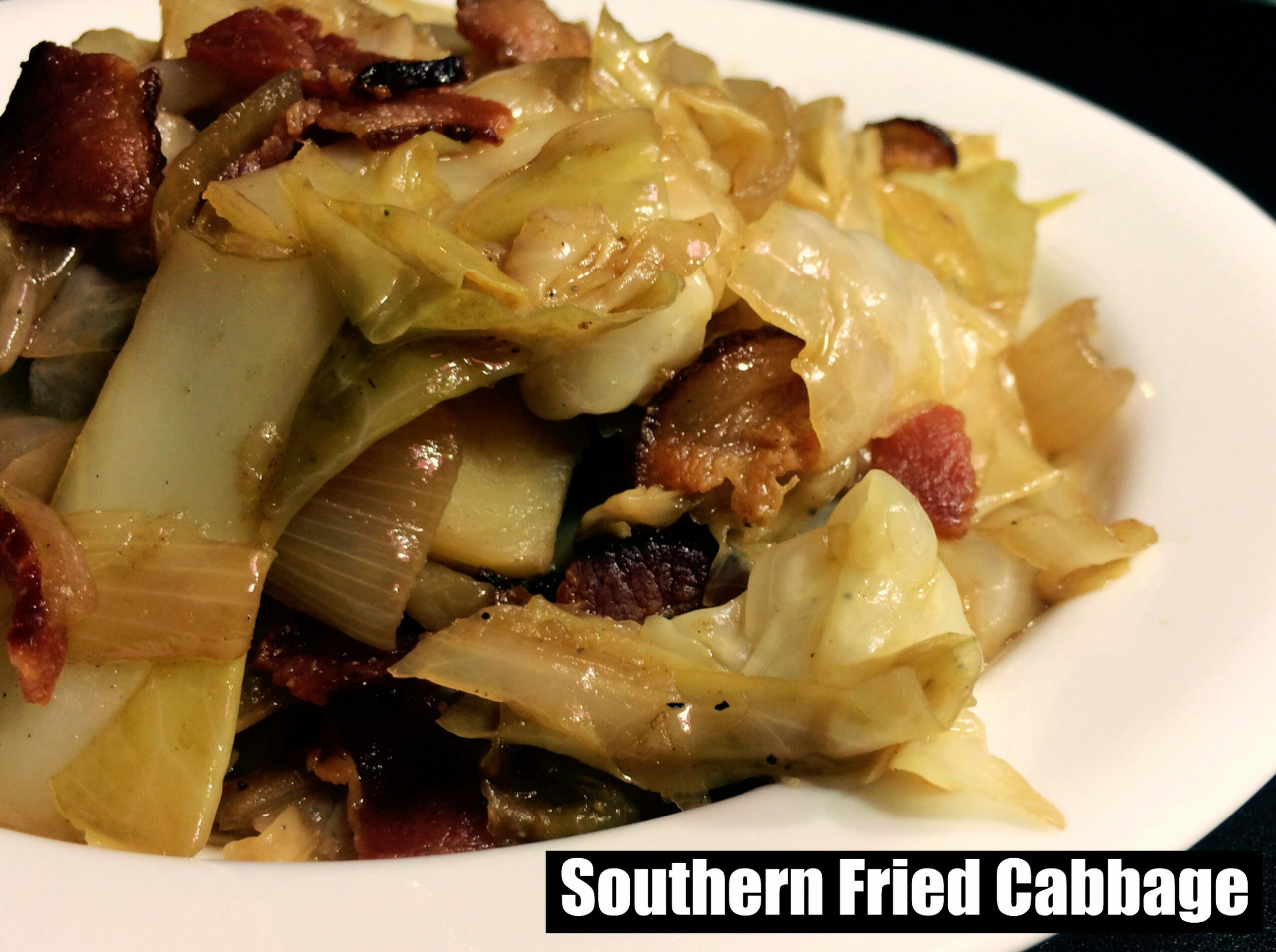 Southern Fried Cabbage - Old School Soul Food Recipes