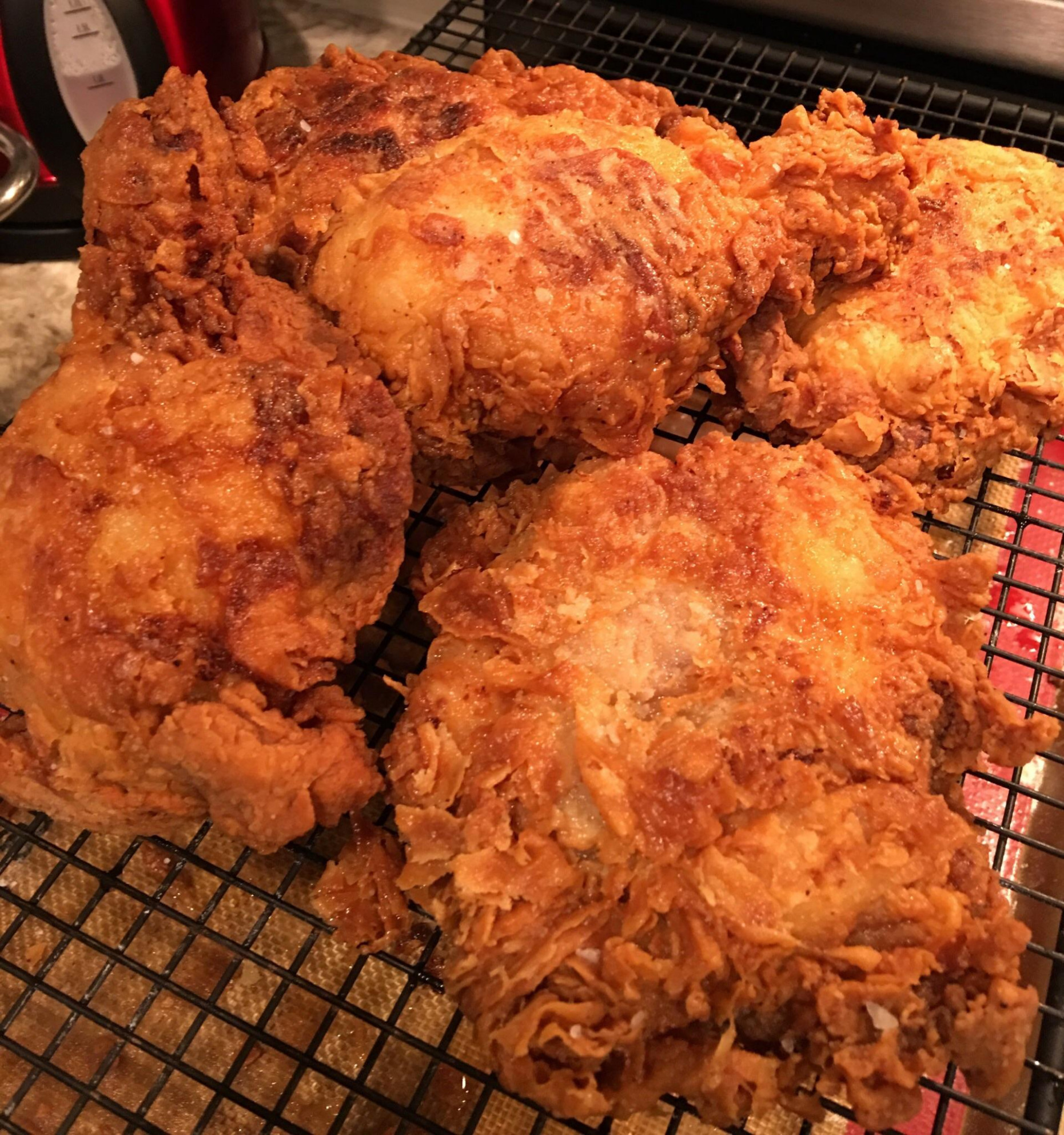 Southern Fried Chicken [Homemade] : food - chicken recipes reddit