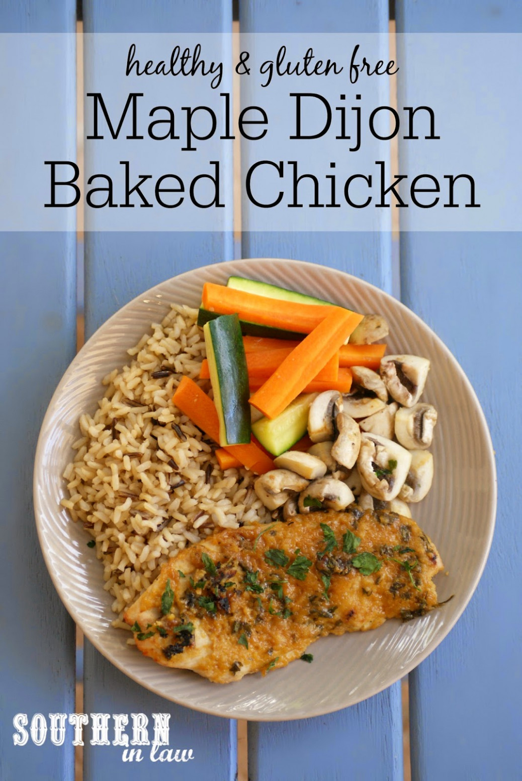 Southern In Law: Recipe: Healthy Maple Dijon Baked Chicken ..