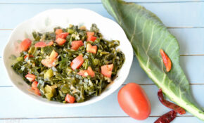Southern Style Vegetarian Collard Greens – Recipes Collard Greens Vegetarian