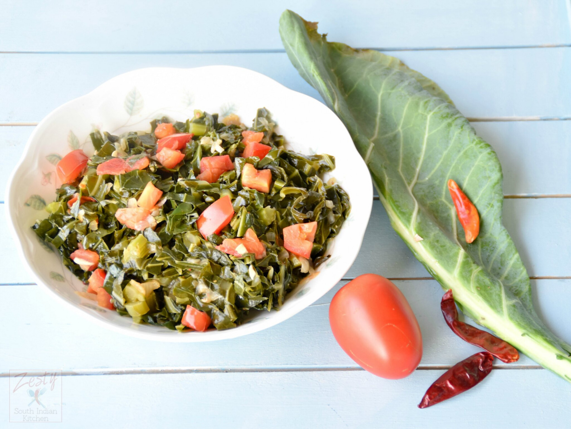 Southern Style Vegetarian Collard Greens - recipes collard greens vegetarian