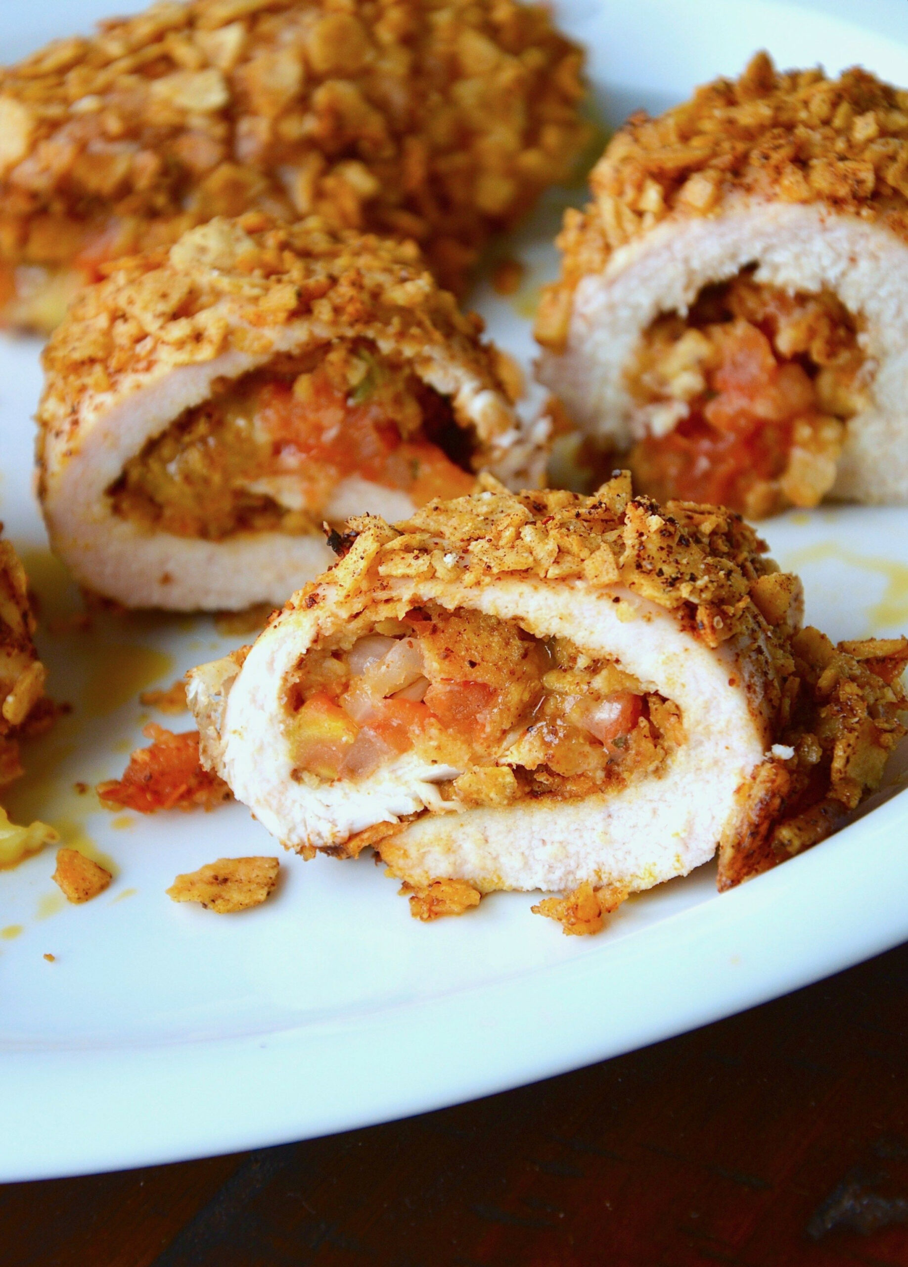 southwest stuffed chicken rolls | Chicken Dishes | Pinterest ..