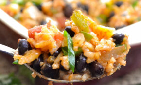 Southwest Veggie And Rice Casserole – Recipes Beans And Rice Vegetarian