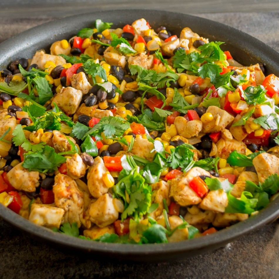 Southwestern Chicken Skillet Dinner | Pick Fresh Foods - Recipes And Food