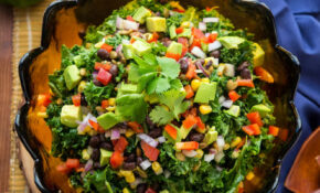 Southwestern Kale Salad – Healthy Recipes Quick And Easy