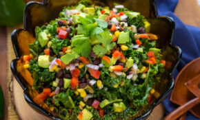 Southwestern Kale Salad – Vegan Recipes Dinner Quick
