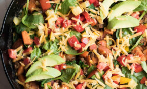 Southwestern Sweet Potato And Beef Skillet – Recipes Ground Beef Healthy