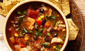 Southwestern Vegetable & Chicken Soup Recipe – EatingWell – Recipes That Use Chicken Broth