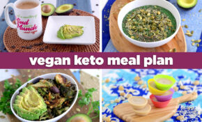 Soy Free Vegan Keto Meal Plan For The Day: 14 Meals + Dessert ..