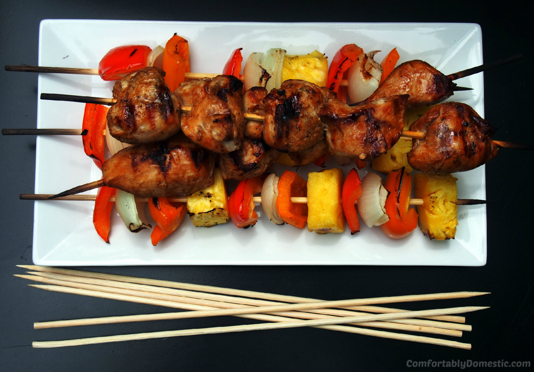 Soy Ginger Chicken Kabobs Recipe and 13 Rules for Easy Entertaining - kabob recipes chicken