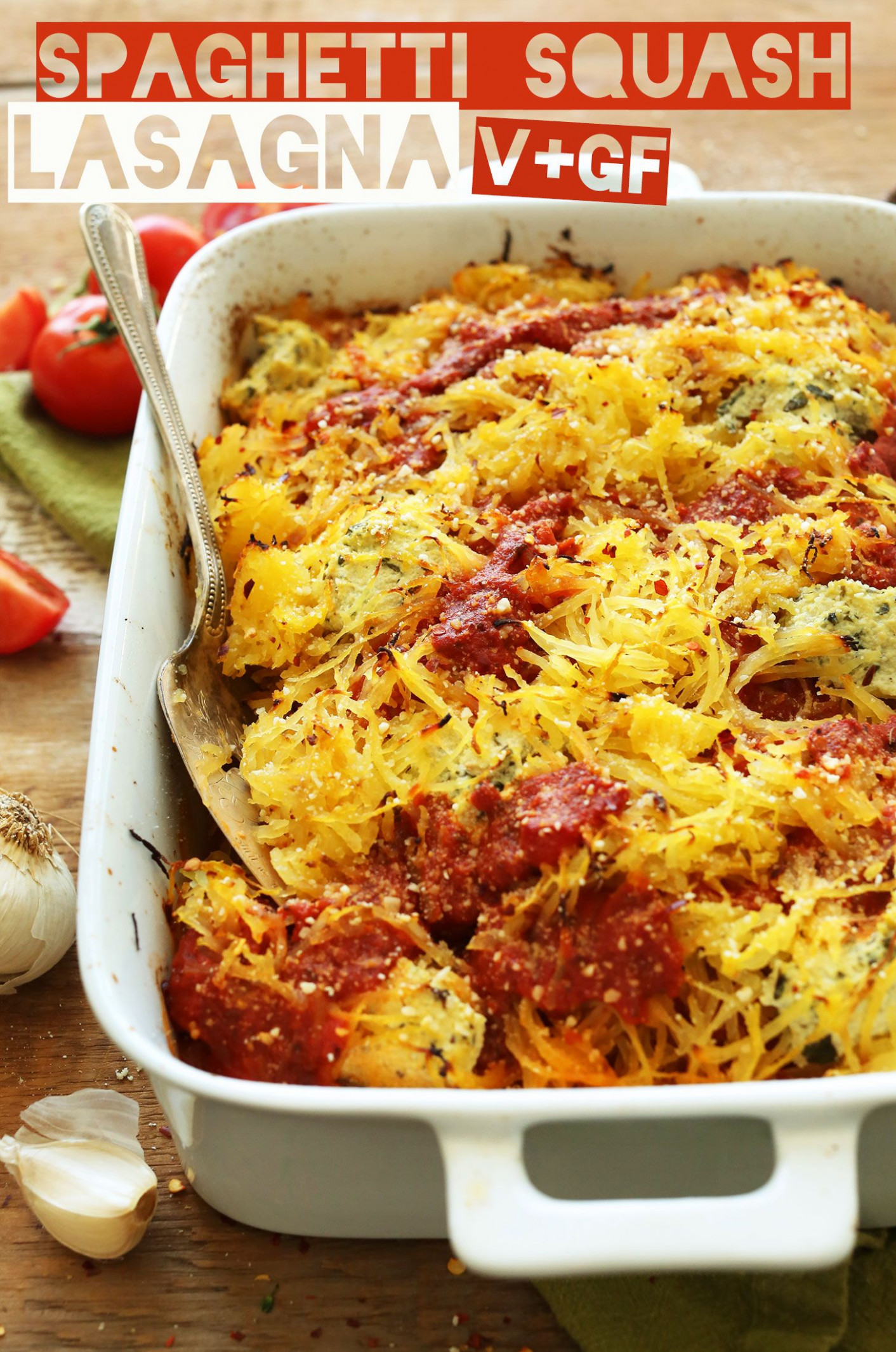 Spaghetti Squash Lasagna Bake | Recipe | Eat Skinny, Be ..