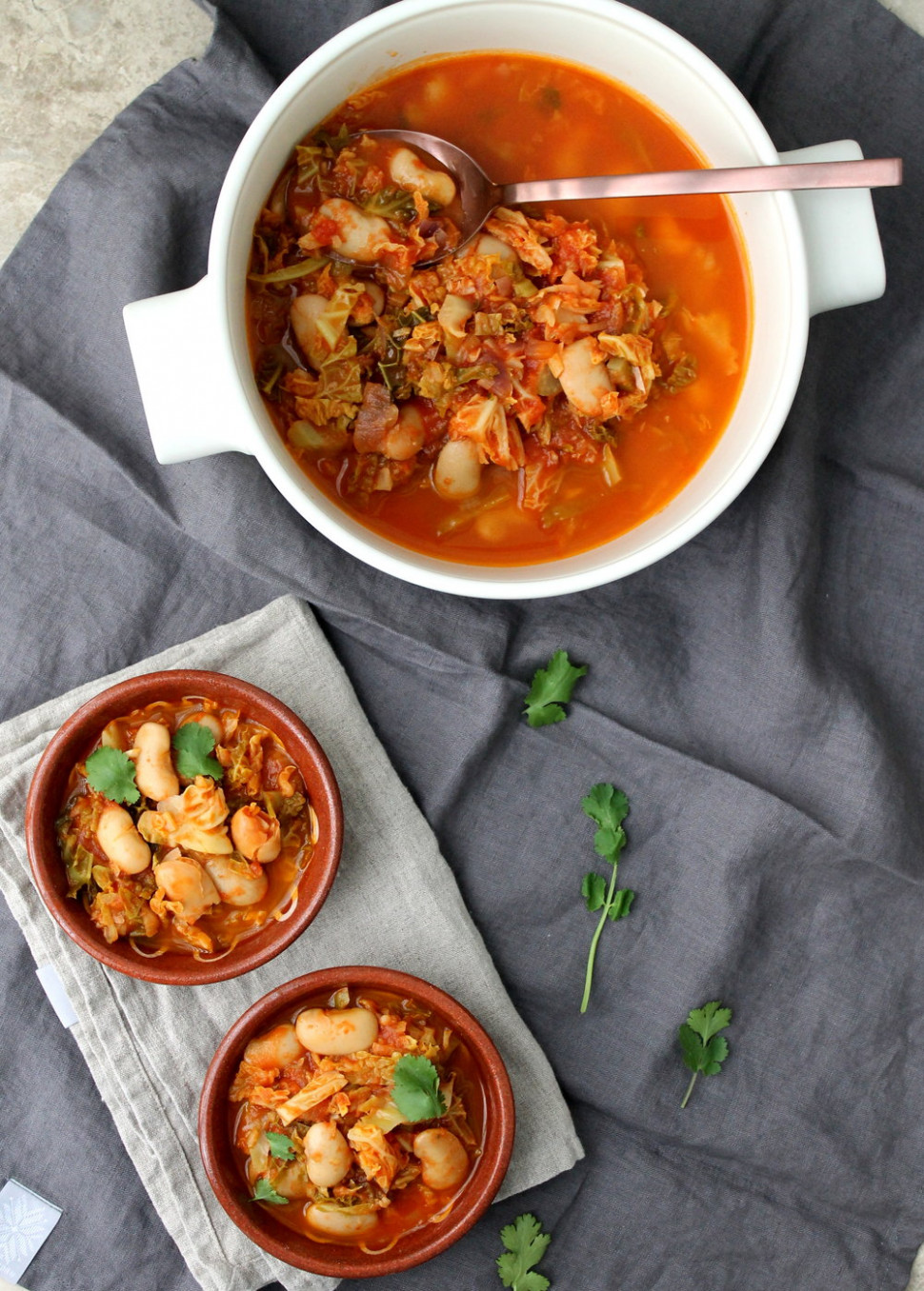 Spanish Cabbage and Butter Bean Stew — Whole Nourishment - recipes butter beans vegetarian