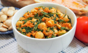 Spanish Chickpeas And Spinach – Chickpea Recipes Vegetarian