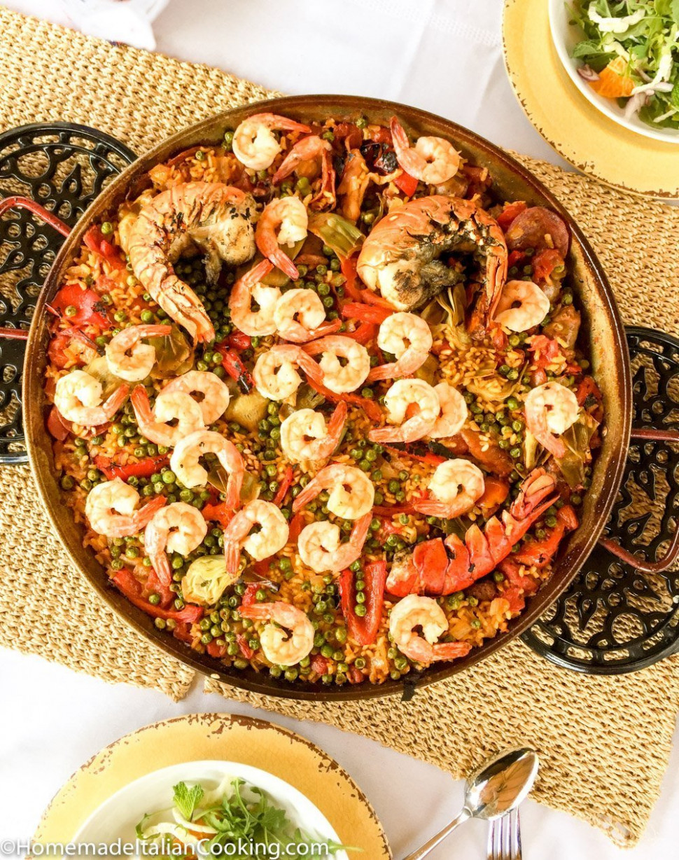 Spanish Grand Prix: Paella on the Grill - paella recipes chicken