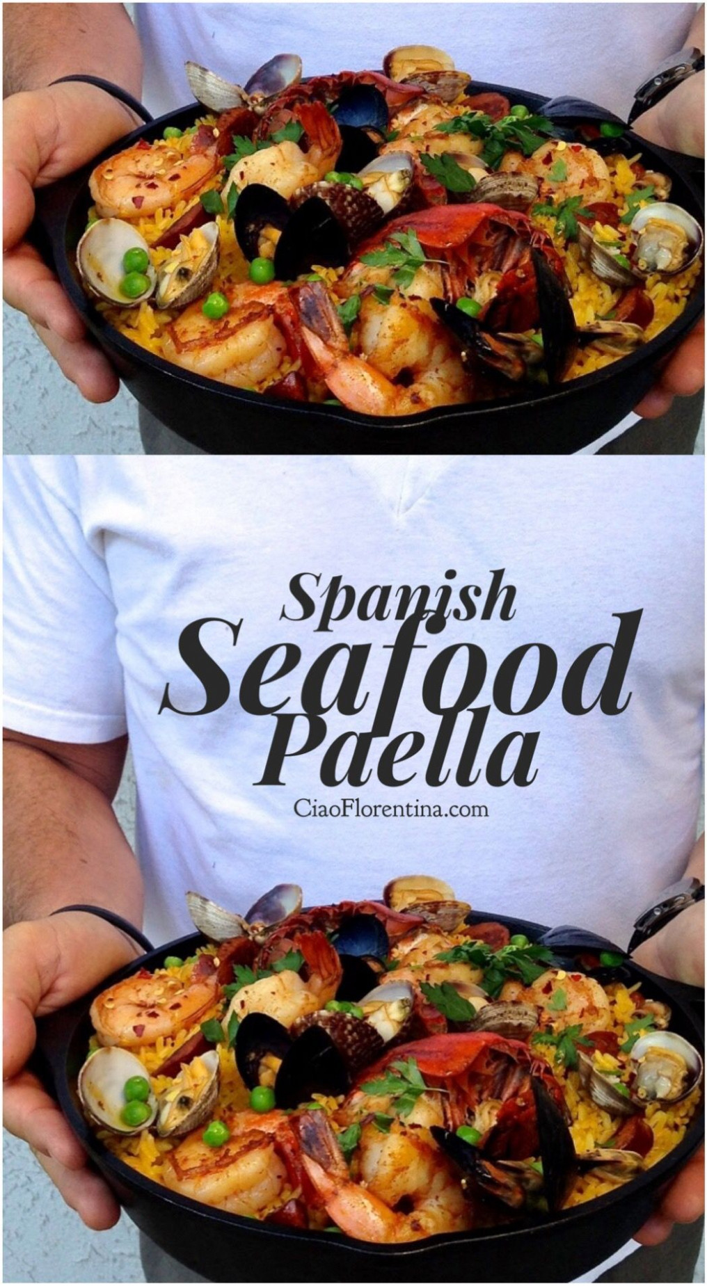 Spanish Seafood Paella (Healthy) | Recipe | Family ..