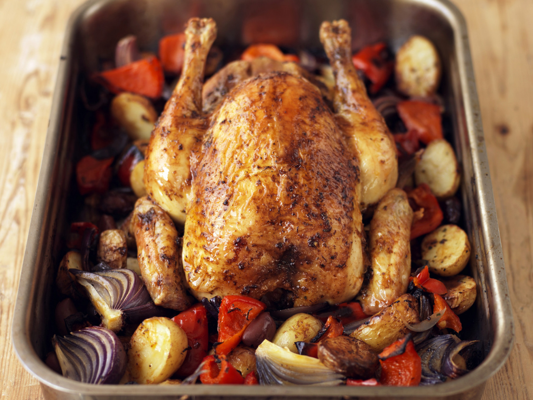 Spanish-Style Roast Chicken Recipe - Food Republic - food recipes with chicken