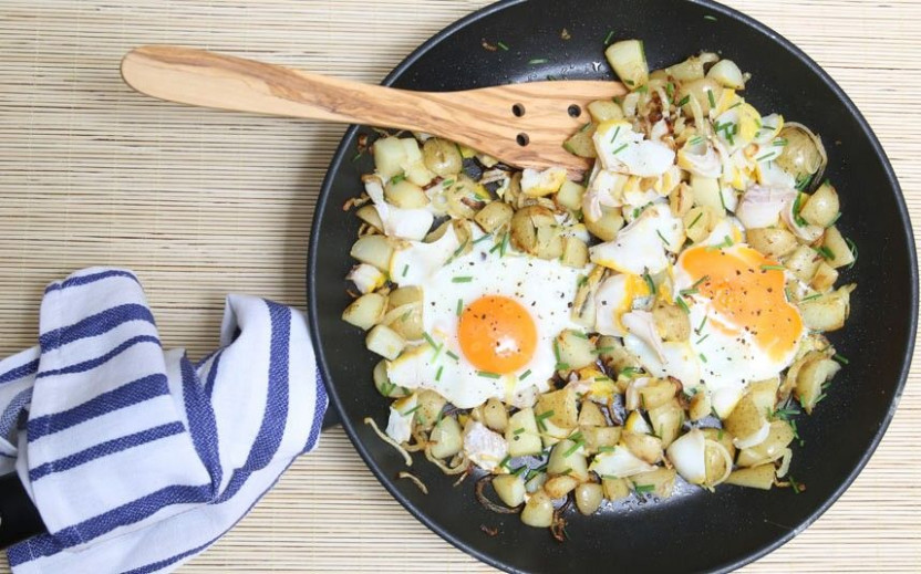 Speedy weeknight suppers: smoked haddock and chive hash ..