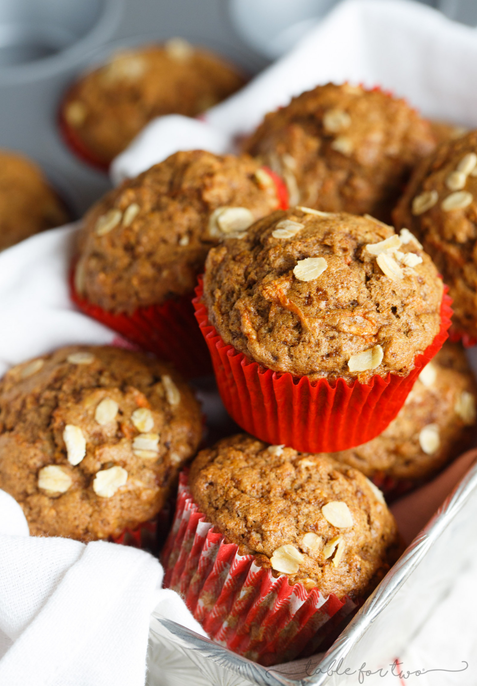 Spiced Orange and Carrot Whole Wheat Muffins - healthy recipes muffins