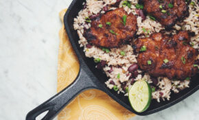 Spiced Rum Jerk Sunchokes With Rice & Beans | Hot For Food – Jerk Recipes Vegetarian