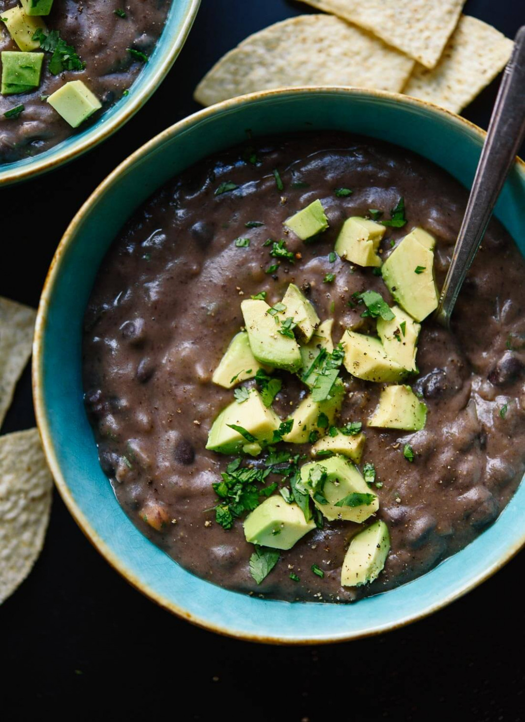 Spicy Black Bean Soup Recipe - Cookie And Kate - Recipes Vegetarian Black Beans