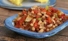Spicy Black Eyed Peas With Tomatoes And Peppers – Recipes Black Eyed Peas Vegetarian