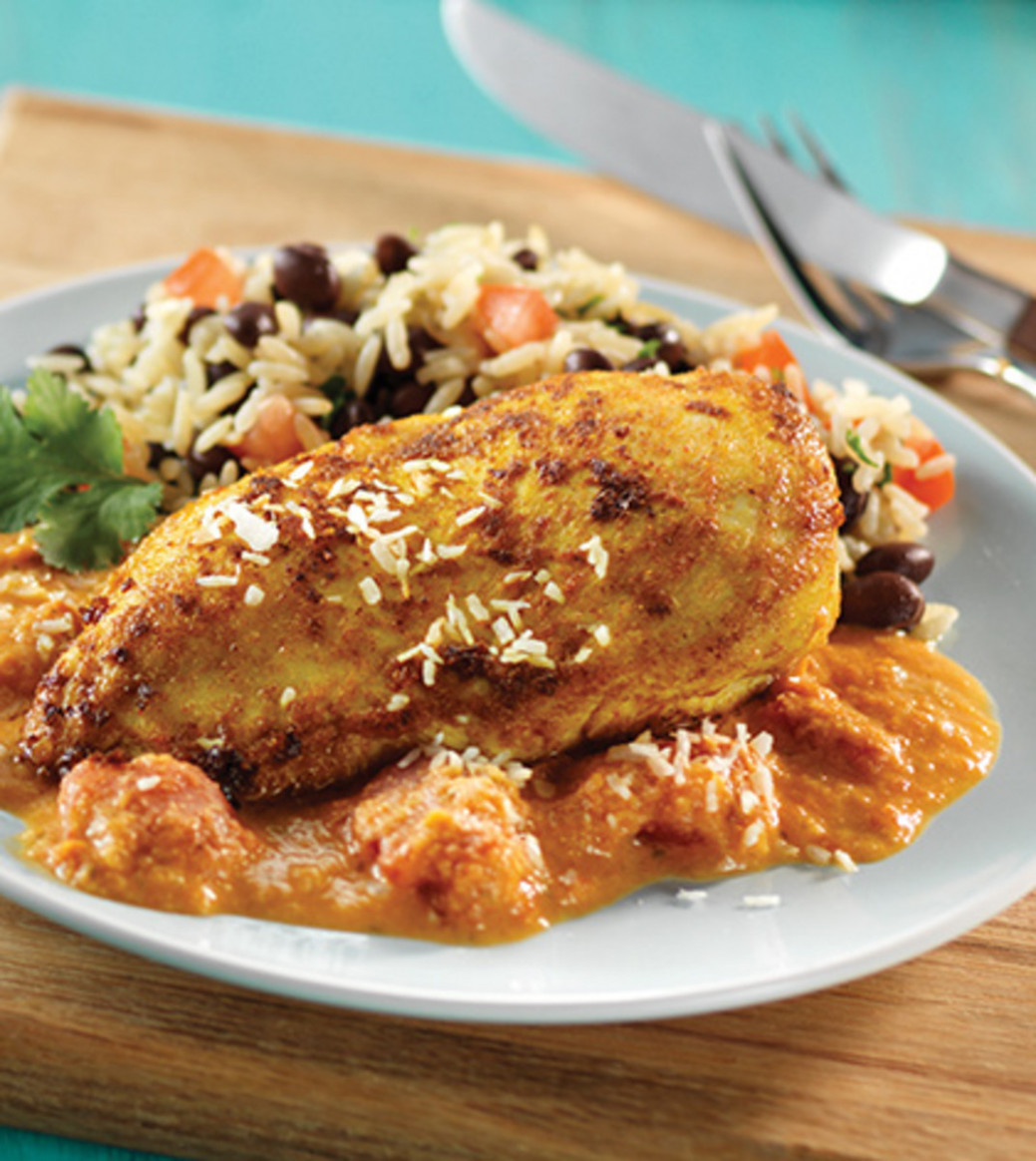 Spicy Brazilian Coconut Chicken Recipe - Clean Eating Magazine - brazilian food recipes