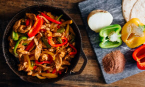 Spicy Chicken Fajitas – Dad With A Pan – Healthy Recipes Good For The Heart