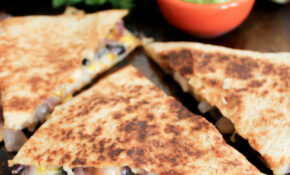Spicy Chicken Quesadillas With Corn, Black Beans, And Caramelized Onions – Quesadilla Recipes Chicken