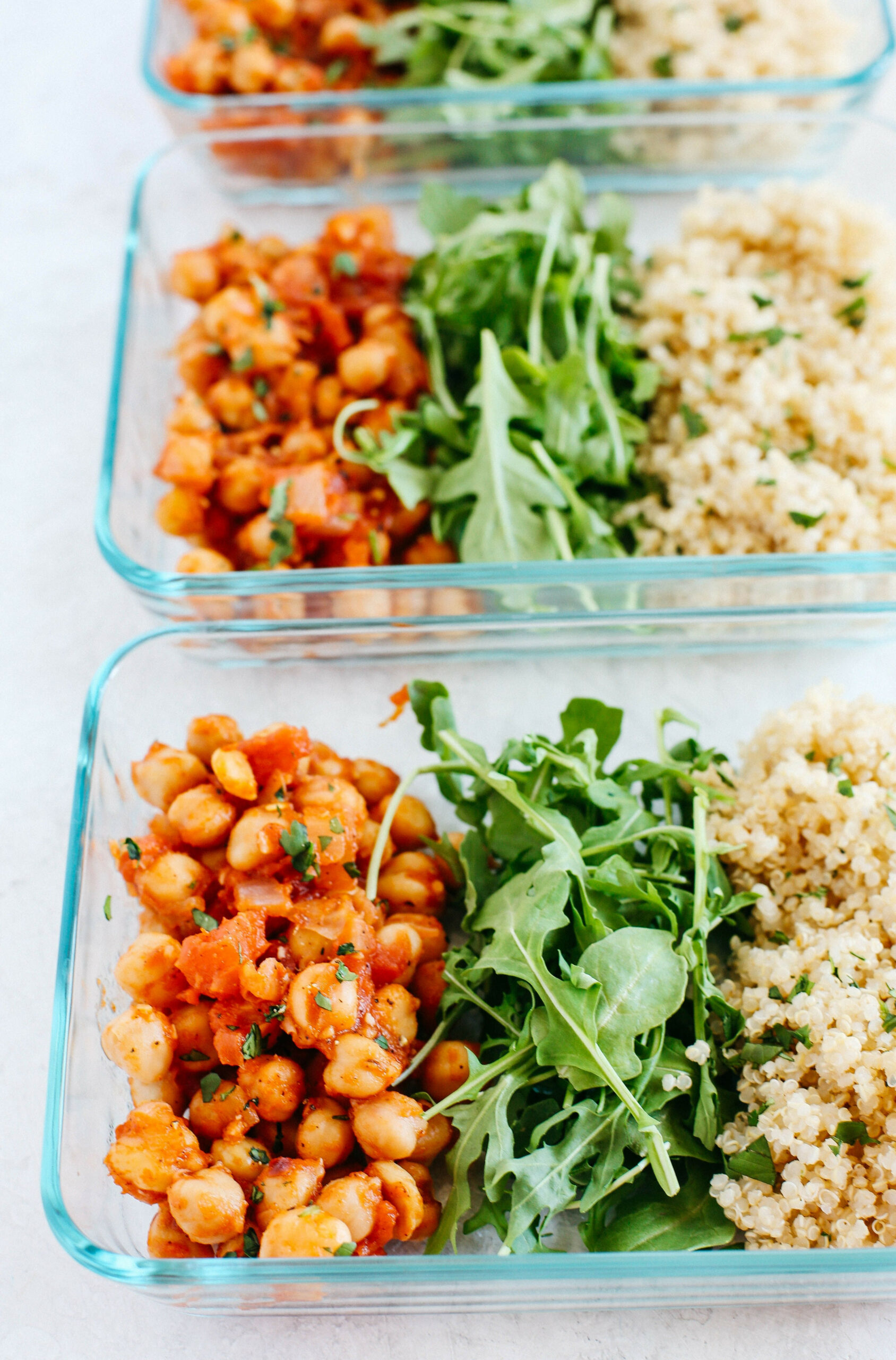 Spicy Chickpea And Quinoa Bowls - Chickpea Recipes Dinner