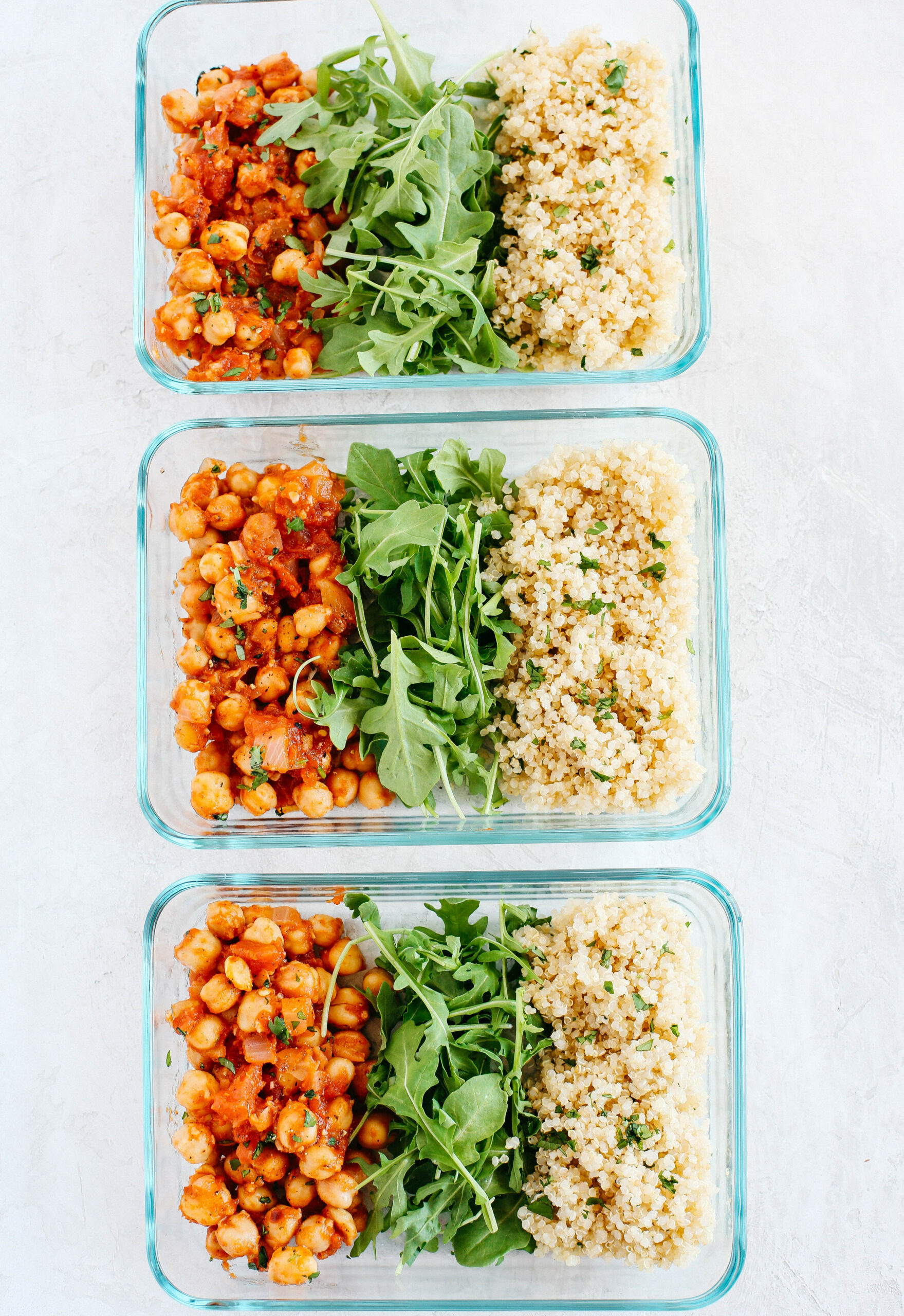 Spicy Chickpea and Quinoa Bowls - quinoa dinner recipes vegetarian