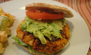 Spicy Chickpea Burgers – Recipes Vegetarian Burger Patty