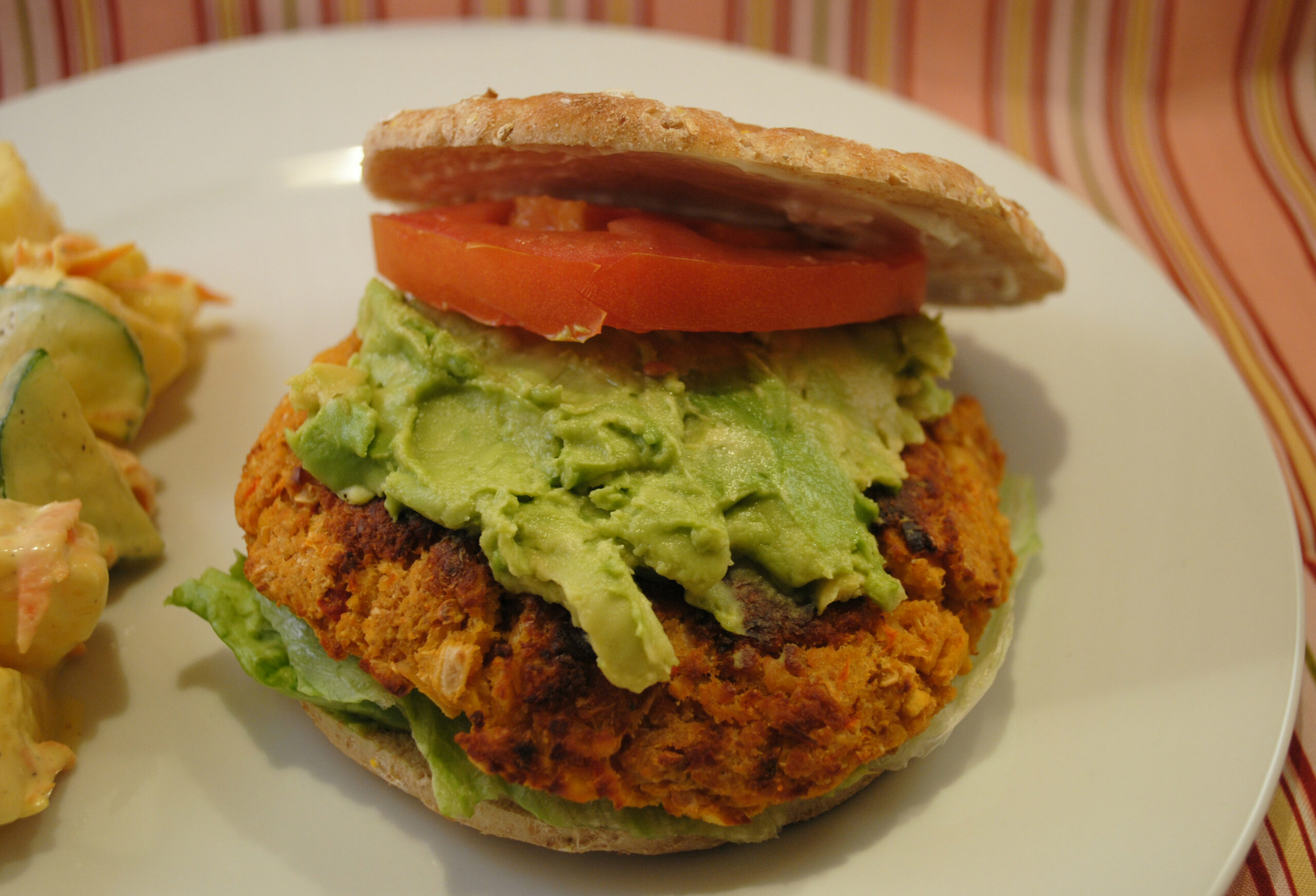 Spicy Chickpea Burgers - recipes vegetarian burger patty