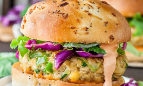 Spicy Chickpea Veggie Burgers With Jalapeño And Zucchini – Recipe Vegetarian Hamburger Patties