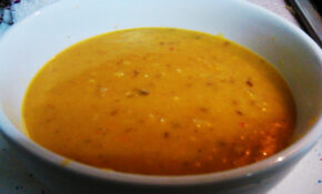 Spicy Dahl – Yellow Split Pea Soup | Antiguan Vegan – Recipe Vegetarian Yellow Split Pea Soup