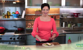 Spicy Egg And Avocado Wrap – Ellie Krieger Recipe – Ellie's Real Good Food Recipes