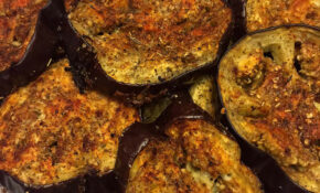 Spicy Garlic Oven Roasted Eggplant Slices Recipe – Melanie ..