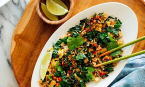 Spicy Kale And Coconut Fried Rice – Recipes With Rice Vegetarian