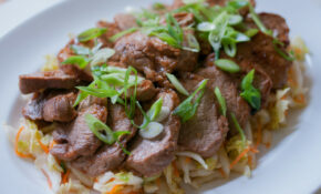 Spicy Korean Style Pork Medallions With Asian Slaw – Recipes By Food Fusion