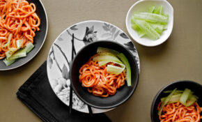 Spicy Korean Temple Noodles Recipe – NYT Cooking – Unusual Dinner Recipes