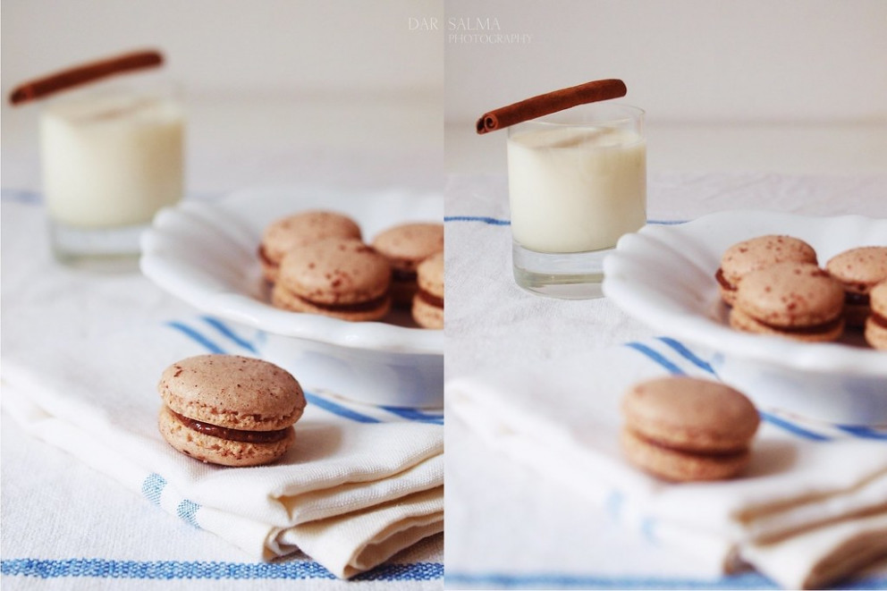 spicy macarons with moroccan almond milk - moroccan food recipes